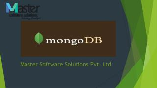 Mango DB - Web Development