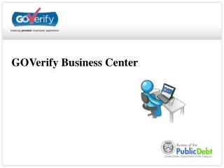 GOVerify Business Center