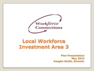 Local Workforce Investment Area 3