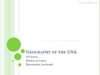 Geography of the  USA