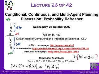 Lecture 26 of 42