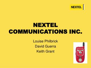 NEXTEL COMMUNICATIONS INC.