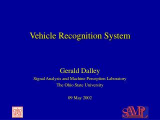 Vehicle Recognition System