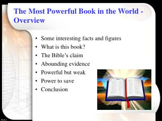 The Most Powerful Book in the World - Overview