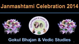 Janmashtami Celebration  2014