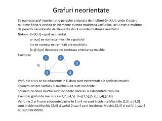 Grafuri neorientate
