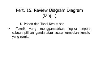 Pert. 15. Review Diagram Diagram (lanj…)