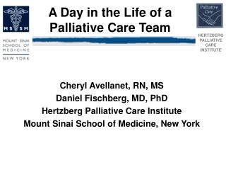 A Day in the Life of a Palliative Care Team