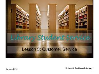 Library Student Service
