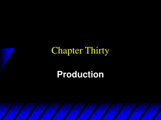 Chapter Thirty