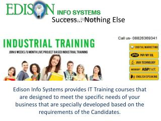 Edison Info Systems - Best Coaching Institute Delhi/NCR