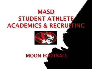 MASD  student athlete academics  &  recruiting
