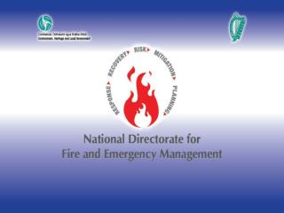 National Perspective on Emergency Management