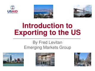 Introduction to Exporting to the US