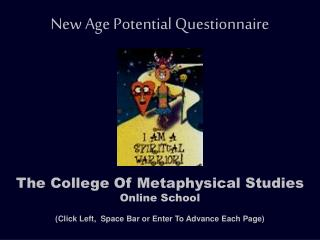 New Age Potential Questionnaire