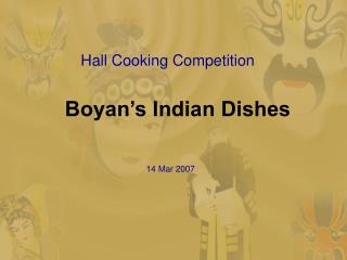 Boyan's Indian Dishes