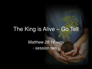 The King is Alive – Go Tell