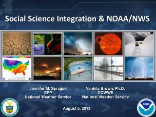 Social Science Integration & NOAA/NWS