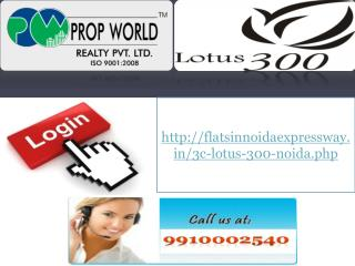 3c Lotus 300 Noida Sector 107, 09910002540, 3c Resale Flats
