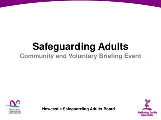Safeguarding Adults Community and Voluntary Briefing Event