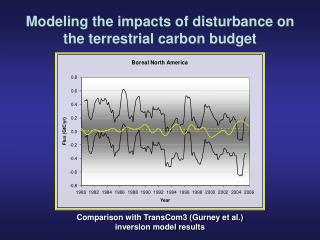 Modeling the impacts of disturbance on the terrestrial carbon budget