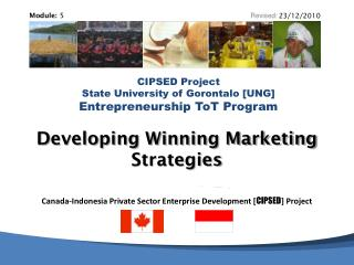 Developing Winning Marketing Strategies