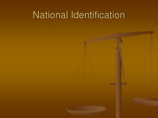 National Identification