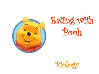 Eating with Pooh
