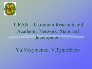 August 2000  - The order of  the President of Ukraine on Internet development in Ukraine