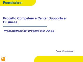 Progetto Competence Center Supporto al Business