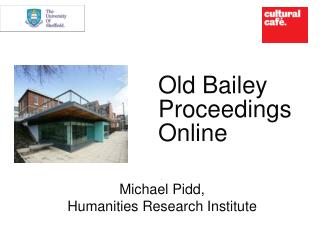 Old Bailey Proceedings Online