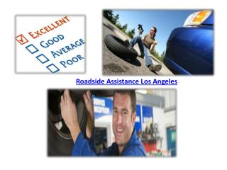 Roadside Assistance Los Angeles