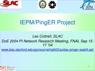 IEPM/PingER Project