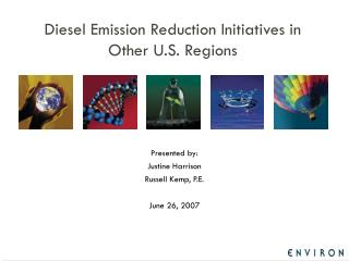 Diesel Emission Reduction Initiatives in Other U.S. Regions