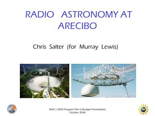 RADIO   ASTRONOMY AT ARECIBO