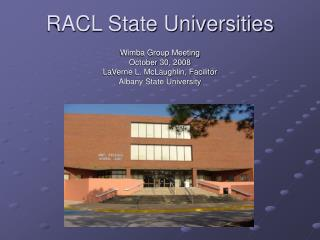 RACL State Universities