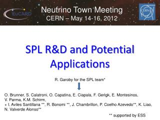 SPL R&D and Potential Applications