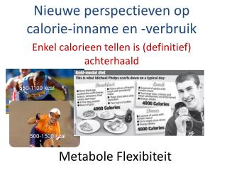 Metabole Flexibiteit
