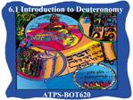 6.1 Introduction to Deuteronomy