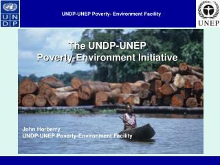 UNDP-UNEP Poverty- Environment Facility