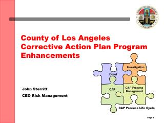County of Los Angeles Corrective Action Plan Program Enhancements