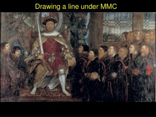 Drawing a line under MMC