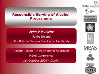Responsible Serving of Alcohol Programme