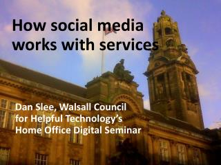 Dan  Slee , Walsall Council  LGComms , Nottingham