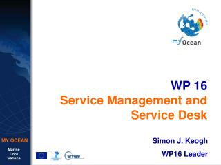 WP 16 Service Management and Service Desk