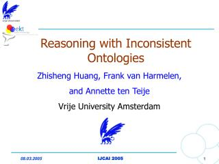 Reasoning with Inconsistent Ontologies