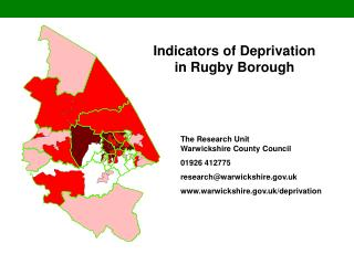 Indicators of Deprivation in Rugby Borough