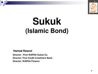 Sukuk (Islamic Bond)