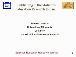 Publishing in the Statistics Education Research Journal