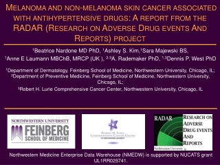 1 Beatrice Nardone MD PhD, 1 Ashley S. Kim, 1 Sara Majewski BS,